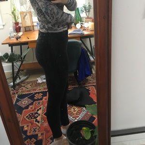 J Brand Black Skinny Jeans high rise size 28